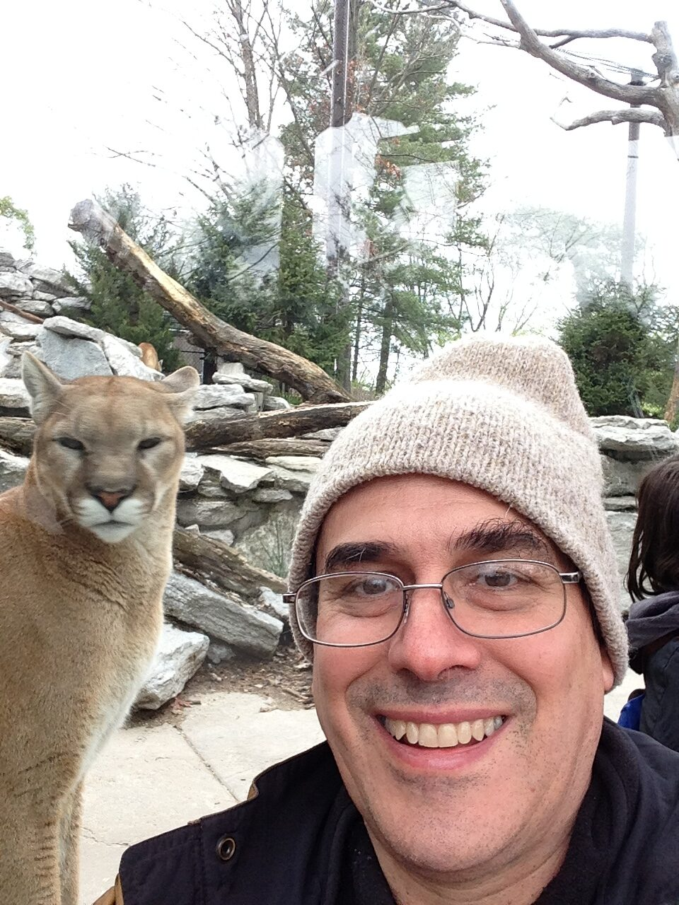 Alan and Cougar Cincy Zoo